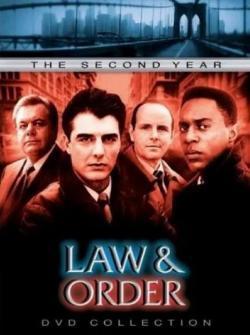 法律与秩序第二季海报剧照